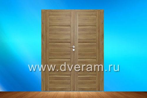 Двери из массива дерева Дверное полотно украшает резной